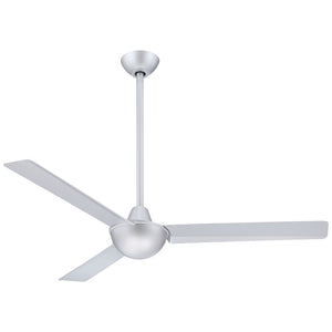 "Kewl 52"" Ceiling Fan In Silver by Minka Aire F833-SL"
