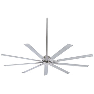 "Xtreme 72"" Ceiling Fan In Brushed Nickel by Minka Aire F887-72-BN"
