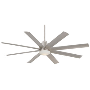 "Slipstream 65"" Ceiling Fan In Brushed Nickel Wet by Minka Aire F888-BNW"