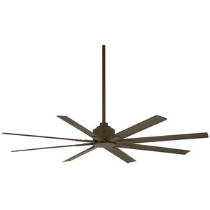 "Xtreme H2O 65"" Outdoor Ceiling Fan In Oil Rubbed Bronze by Minka Aire F896-65-ORB"