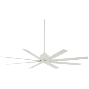 "Xtreme H2O 65"" Outdoor Ceiling Fan In Flat White by Minka Aire F896-65-WHF"