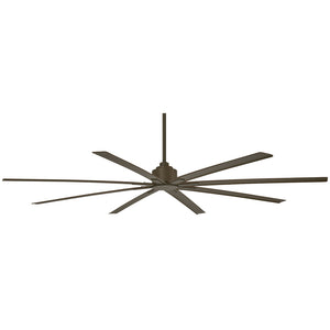 "Xtreme H2O 84"" Outdoor Ceiling Fan In Oil Rubbed Bronze by Minka Aire F896-84-ORB"