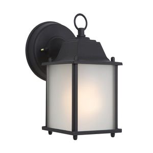 Tara Collection 1 Light Exterior Wall Light in Black by Yosemite Home Décor FL5009BL