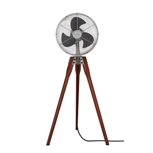 Arden Pedestal Fan Inch Fan in Satin Nickel Finish by Fanimation FP8014SN