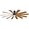 Windflower Ceiling Fan FR-W1815-80L-MB/DK Modern Forms Fans