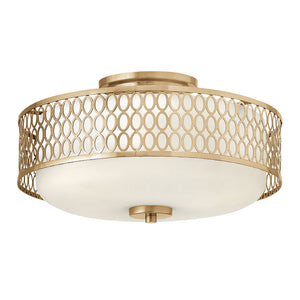Jules Foyer Ceiling by Fredrick Ramond FR35601BRG Brushed Gold