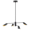 Bowery Chandelier by Fredrick Ramond FR35804BLK Black*