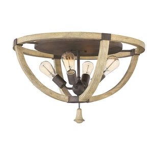 Middlefield Foyer Ceiling by Fredrick Ramond FR40571IRR Iron Rust*