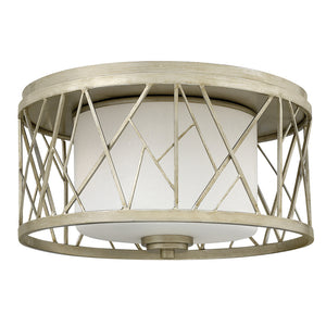 Nest Foyer Ceiling by Fredrick Ramond FR41611SLF Silver Leaf*