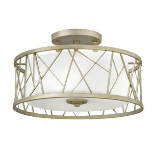 Nest Foyer Ceiling by Fredrick Ramond FR41622SLF Silver Leaf*