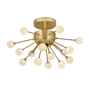 Impulse Foyer Ceiling by Fredrick Ramond FR44411POG Polished Gold