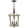 Sherwood Chandelier by Fredrick Ramond FR45203CWW Cottage Whitewash