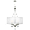 Mime Chandelier by Fredrick Ramond FR45604BNI Brushed Nickel*