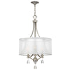 Mime Chandelier by Fredrick Ramond FR45606BNI Brushed Nickel*