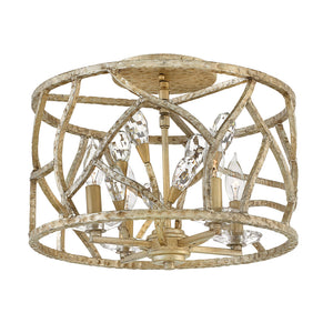 Eve Foyer Ceiling by Fredrick Ramond FR46801CPG Champagne Gold