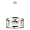 Feiss Harrow 4 Light Pendant in Polished Nickel Finish F3199/4PN