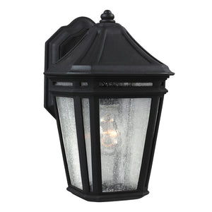 Feiss Londontowne 1 Light Outdoor Wall Sconce in Black Finish OL11300BK