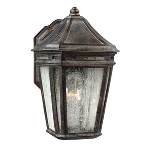 Feiss Londontowne 1 Light Outdoor Wall Sconce in Weathered Chestnut Finish OL11300WCT