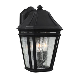 Feiss Londontowne 3 Light Outdoor Wall Sconce in Black Finish OL11301BK