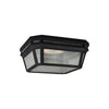 Feiss Londontowne 2 Light Outdoor Lighting Outdoor Ceiling in Black Finish OL11313BK