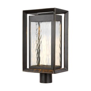 Feiss Urbandale 1 Light Outdoor Post Lantern in Antique Bronze Finish OL13707ANBZ-L1