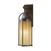 Feiss Dakota 1 Light Outdoor Wall Sconce in Heritage Bronze Finish OL7601HTBZ