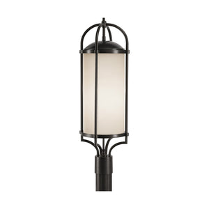Feiss Dakota 3 Light Outdoor Post Lantern in Espresso Finish OL7607ES