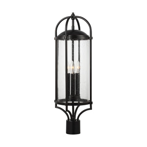 Feiss Dakota 3 Light Outdoor Post Lantern in Espresso Finish OL7627ES
