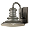 Feiss Redding Station 1 Light Outdoor Wall Sconce in Tarnished Silver Finish OL8600TRD