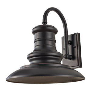 Feiss Redding Station 1 Light Outdoor Wall Sconce in Restoration Bronze Finish OL9004RSZ-L1