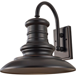 Feiss Redding Station 1 Light Outdoor Wall Sconce in Restoration Bronze Finish OL9004RSZ