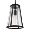 Feiss Harrow 1 Light Mini Pendant in Oil Rubbed Bronze Finish P1287ORB