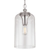 Feiss Hounslow 1 Light Mini Pendant in Polished Nickel Finish P1309PN