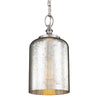 Feiss Hounslow 1 Light Mini Pendant in Brushed Steel Finish P1320BS
