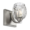 Feiss Kalli 1 Light Wall Sconce in Satin Nickel Finish VS22701SN-L1