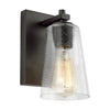 Feiss Mercer 1 Light Wall Sconce in Oil Rubbed Bronze Finish VS24301ORB