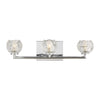 Feiss Arielle 3 Light Bathroom Vanity in Chrome Finish VS24333CH-L1