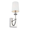 Feiss Stowe 1 Light Wall Sconce in Polished Nickel Finish WB1898PN