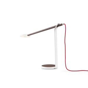 Gravy Desk Lamp in Matte White Finish by Koncept GR1-W-WNR-MWT-DSK