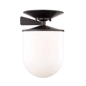Audrey 1 Light Semi Flush By Mitzi H214601L-OB in Old Bronze Finish