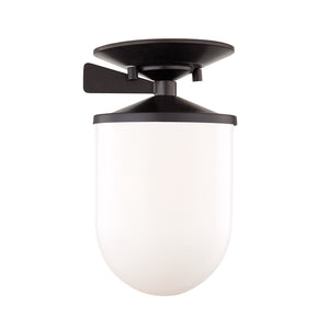 Audrey 1 Light Semi Flush By Mitzi H214601S-OB in Old Bronze Finish