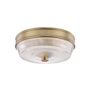 Lacey 2 Light Flush Mount By Mitzi H309501-AGB in Aged Brass Finish