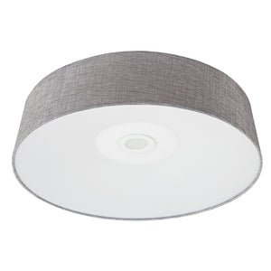 Cermack St Led Light Flush Mount In Grey Linen Finish by Avenue Lighting HF9202-GRY