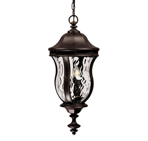 Monticello 3 Light Outdoor Hanging Lantern in Walnut Patina Finish by Savoy House KP-5-302-40