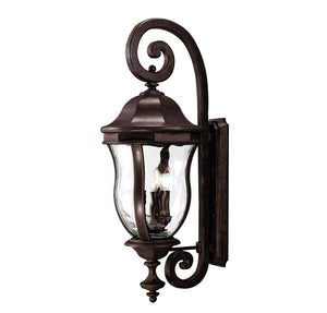 Monticello 4 Light Outdoor Wall Lantern in Walnut Patina Finish by Savoy House KP-5-303-40