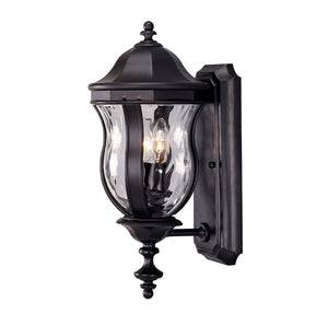 Monticello 2 Light Outdoor Wall Lantern in Black Finish by Savoy House KP-5-304-BK
