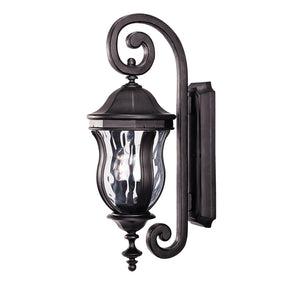 Monticello 2 Light Outdoor Wall Lantern in Black Finish by Savoy House KP-5-305-BK