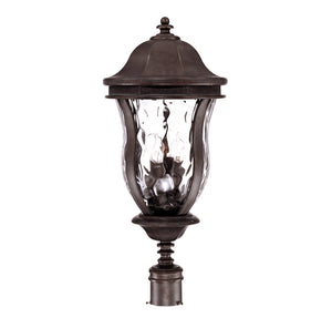 Monticello 4 Light Outdoor Post Lantern in Walnut Patina Finish by Savoy House KP-5-308-40