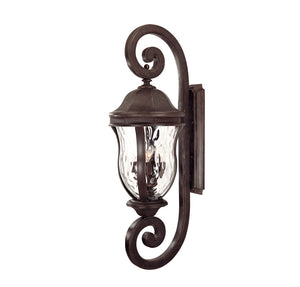 Monticello 4 Light Outdoor Wall Lantern in Walnut Patina Finish by Savoy House KP-5-311-40