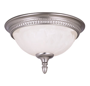 Spirit 2 Light Flush Mount  in Pewter Finish by Savoy House KP-6-506-13-69